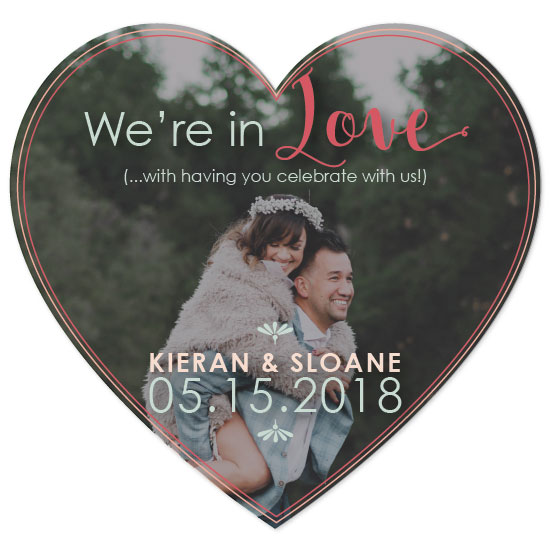 save the date cards - LOVE to have you here by S LaMarche