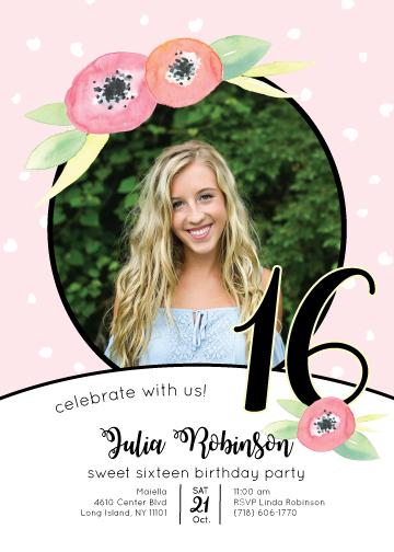 invitations - Sweetest 16th Birthday by Amanda Ansel