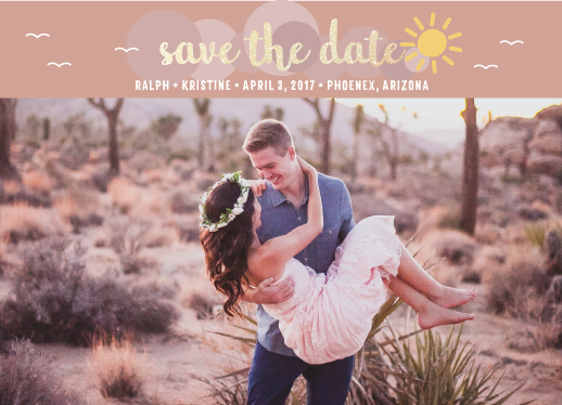 save the date cards - Sunny Simply Amazing by peekaboo