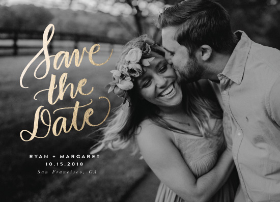 save the date cards - Simply Classic by Lea Velasquez