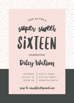 Dashing Sweet 16