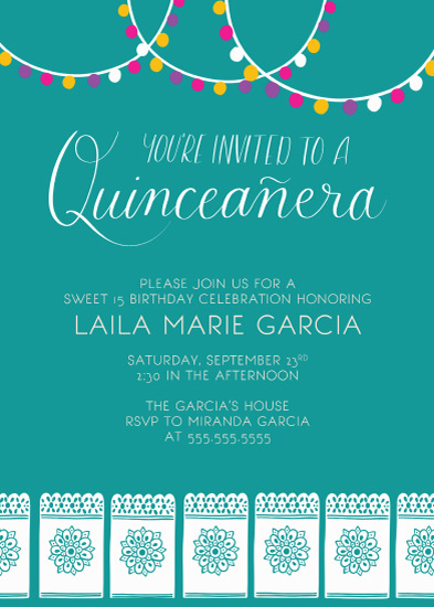 invitations - Charro Quince by Juliana Nahas