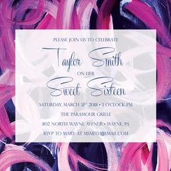 Sweet Sixteen Swirls