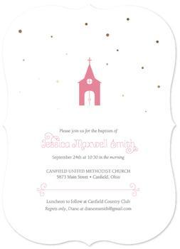 Church with Gold Confetti