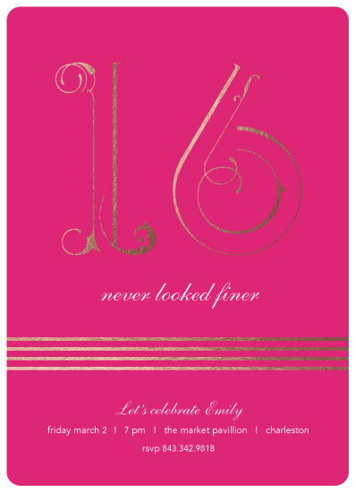 invitations - Fine 16 by Chantal Byrne