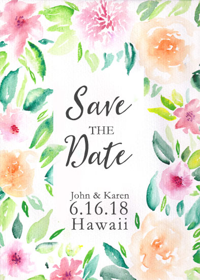 save the date cards - Wedding Getaway by Sarah Leigh