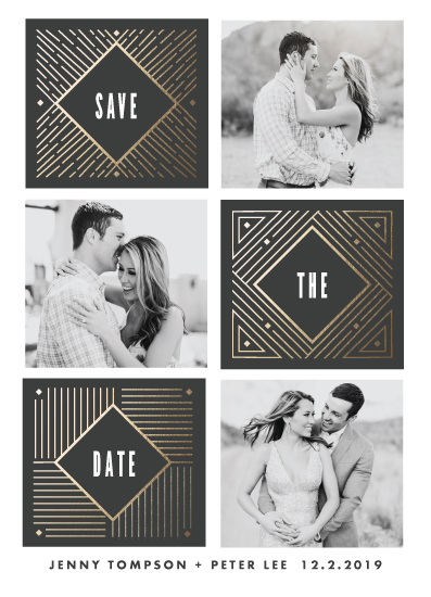 save the date cards - That Spark by Katie Zimpel