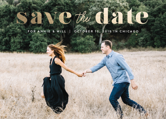 save the date cards - Solid Love by Carolyn MacLaren