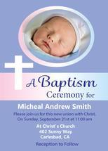 Religious Baptism Invit... by Kristen Niedzielski