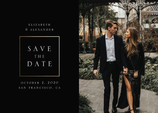 save the date cards - Сlassic by Remioni