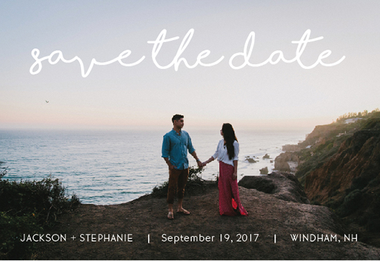 save the date cards - Shorelines by Tammy Kerbawy