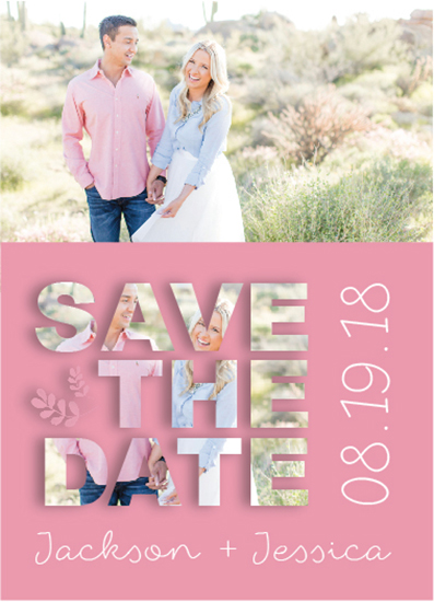 save the date cards - Bold & Charming Love by Tammy Kerbawy