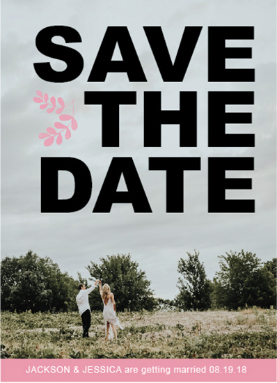 save the date cards - Yes We Do by Tammy Kerbawy