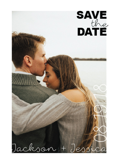save the date cards - Simple Love by Tammy Kerbawy