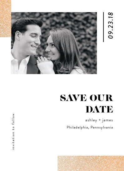 save the date cards - Minimal blocks by kukkiilabs