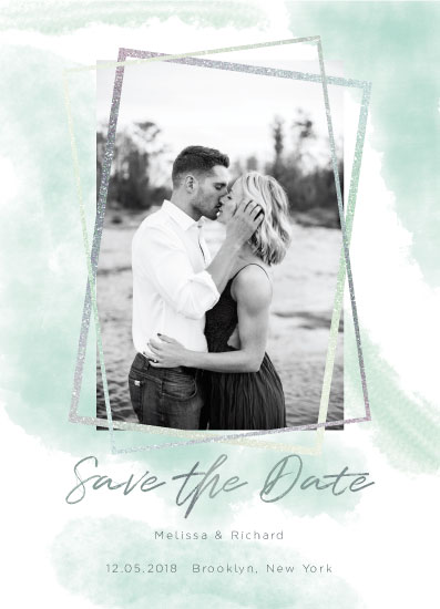 save the date cards - fondness by Katerina