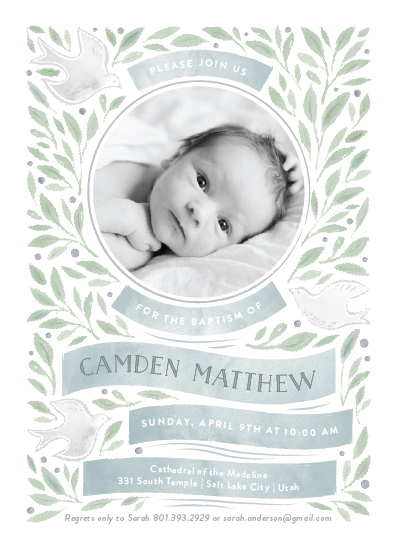 invitations - Olive Branches by Robert and Stella