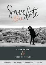 Muted Save The Date by Summerchamps