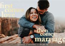 First Comes Love by Strong Willow Studio