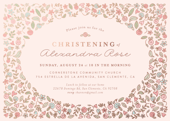 invitations - Cascade by Joanna Griffin