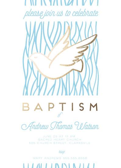 invitations - Dove Baptism by Ilze Lucero