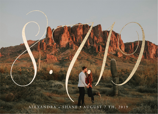 save the date cards - Big is beautiful by My Splendid Summer