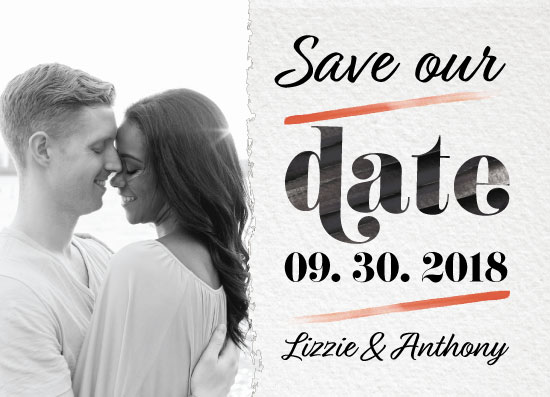 save the date cards - Simple but Sweet by Debbie Quist