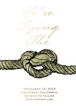 We're Tying The Knot by Amy Solaro
