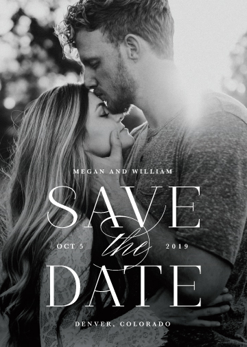 save the date cards - Ultimate by Lauren Chism