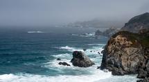 Coastal Horizon by Looking Left