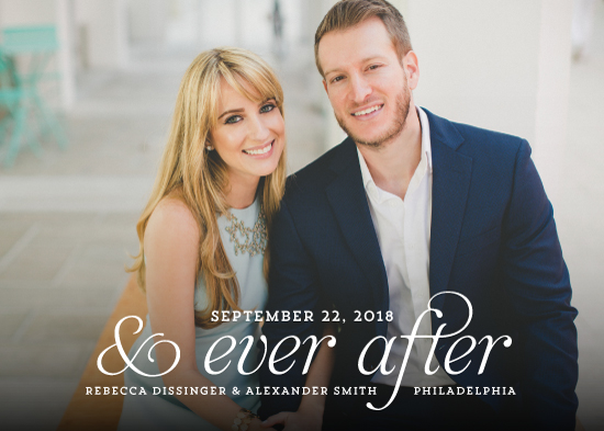 save the date cards - and Ever After by Kim Dietrich Elam