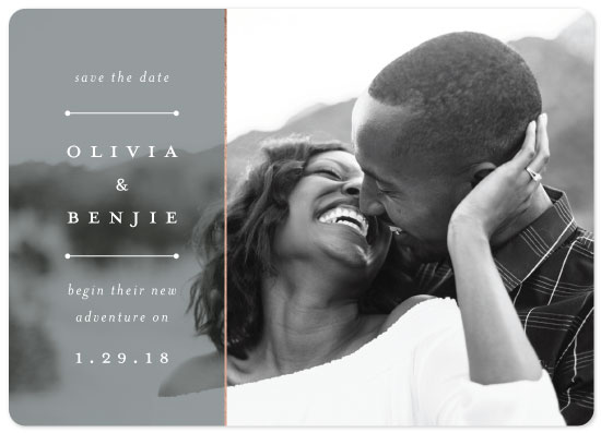 save the date cards - Of things things to come by elena diaz