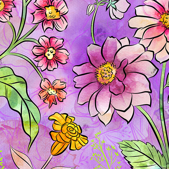 art prints - Flower Power by Delores Orridge Naskrent