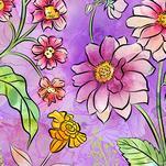 Flower Power by Delores Orridge Naskrent