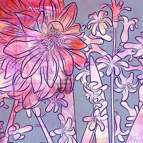 art prints - Hyacinth Heaven by Delores Orridge Naskrent