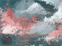 surreal cloud sky by Jasmine Mills