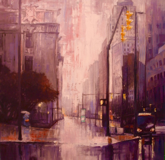 art prints - Rainy days by Mel Thompson