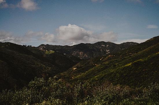 art prints - Santa Monica Mountains by Kelsey Elliott