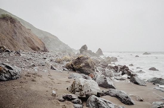 art prints - Foggy Beaches by Kelsey Elliott