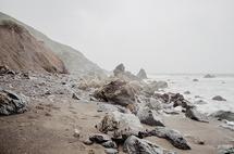 Foggy Beaches by Kelsey Elliott