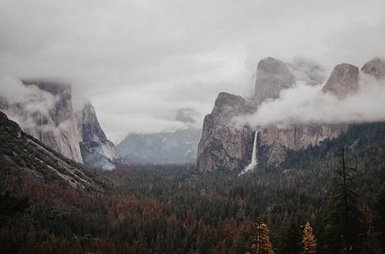 art prints - Yosemite Falls by Kelsey Elliott