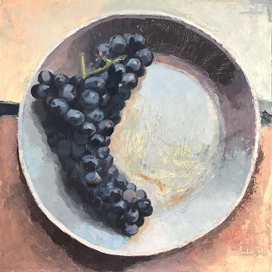 art prints - Concord Grapes by Caitlin Winner