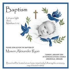 Baptism Doves