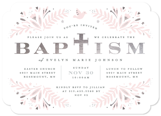 invitations - Little One by Michelle Taylor