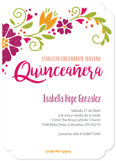 invitations - Feliz Quince Años by Red Hare Creative