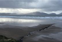 On Inch Beach by Pat Foltz