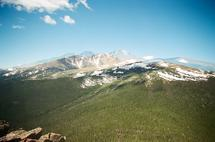 Long's Peak by Sasquatch Mansfield
