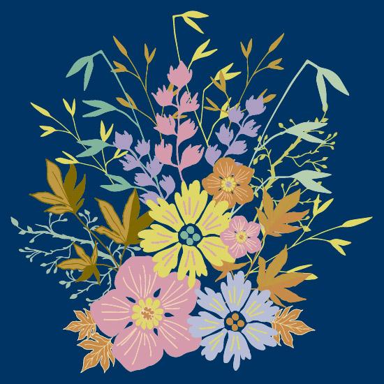 art prints - Flower Bouquet by Artichroma Designs