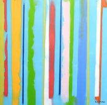 Urban Summer 10 by Gill Miller