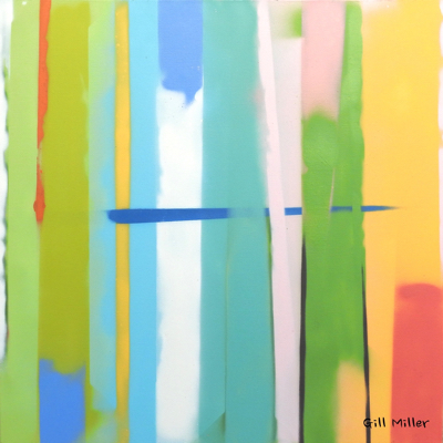 art prints - Urban Summer 2 by Gill Miller